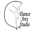 Dance Arts Studio Macon Sticky Logo